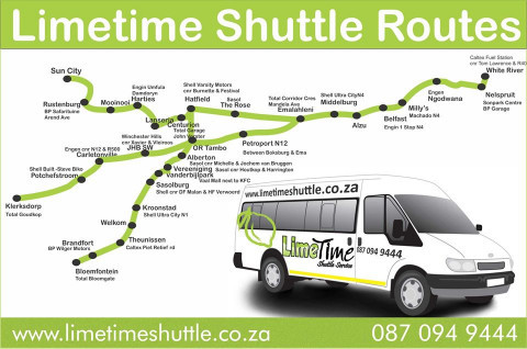 Your preferred shuttle service.