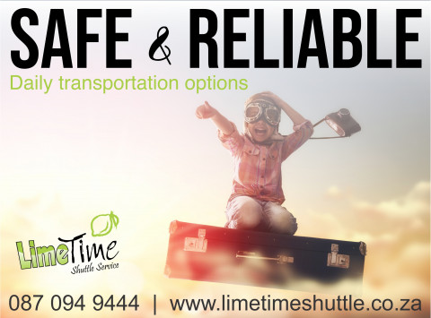 Limetime Shuttle Service day trip destinations.