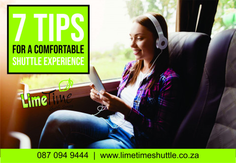 7 tips for a comfortable shuttle trip.