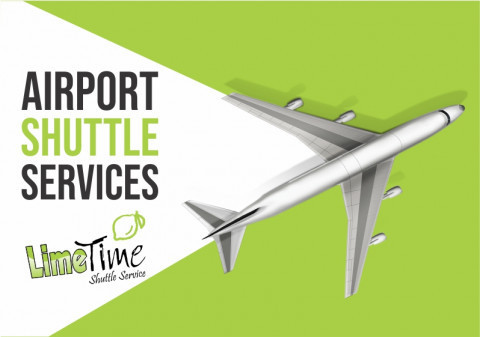 Airport shuttle services.