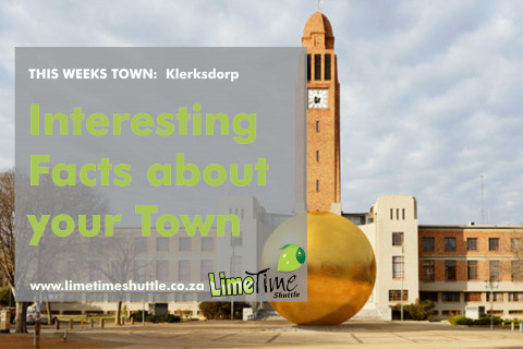 Limetime Shuttle ~ Klerksdorp - Town of the Week