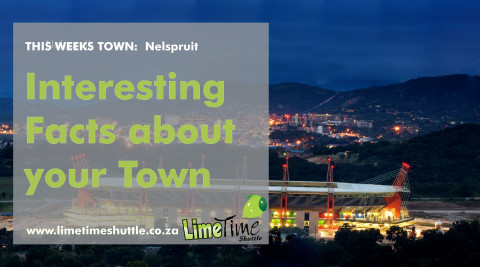 Limetime Shuttle ~ Town of the Week: Nelspruit