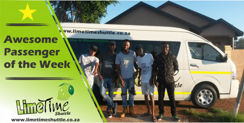Limetime Shuttle ~ Awesome Group of the week