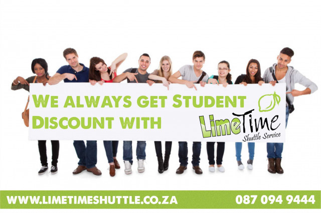 Limetime Shuttle Student Discount