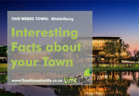 Limetime Shuttle Town of the Week Middelburg