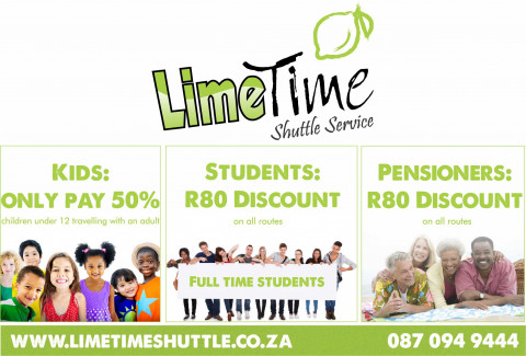 Limetime Shuttle Specials