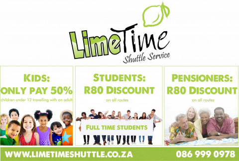 Limetime Shuttle ~ Specials
