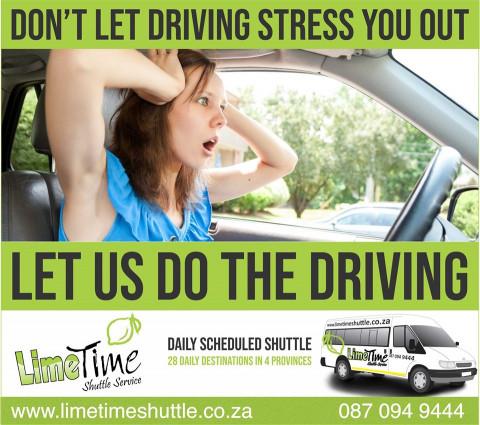 Skip the traffic!